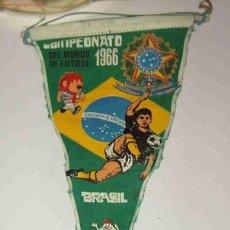Coleccionismo deportivo: BANDERÍN CAMPEONATO DEL MUNDO DE FUTBOL, 1966. Lote 3598721