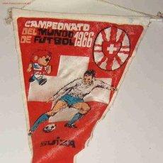 Coleccionismo deportivo: BANDERÍN CAMPEONATO DEL MUNDO DE FUTBOL, 1966. Lote 3256990