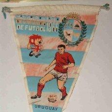 Coleccionismo deportivo: BANDERÍN CAMPEONATO DEL MUNDO DE FUTBOL, 1966. Lote 3061664
