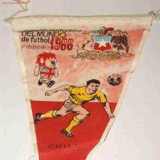 Coleccionismo deportivo: BANDERÍN CAMPEONATO DEL MUNDO DE FUTBOL, 1966. Lote 2752814