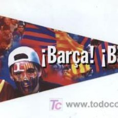 Coleccionismo deportivo: BANDERIN DEL BARCELONA CLUB DE FUTBOL. !BARÇA! ¡BARÇA¡. Lote 3343305