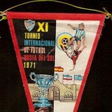 Coleccionismo deportivo: FUTBOL TROFEO COSTA DEL SOL. X I TORNEO INTERNACIONAL DE FUTBOL COSTA DEL SOL, EQUIPOS -. Lote 14963749