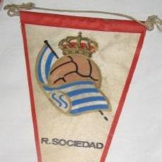 Coleccionismo deportivo: BANDERÍN DE LA REAL SOCIEDAD. Lote 25368173