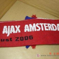 Coleccionismo deportivo: BUFANDA AJAX AMSTERDAM - F.C. KOBENHAVN . PARKEN 9 AGOSTO 2006 FUTBOL. Lote 18925937