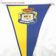 Coleccionismo deportivo: BANDERÍN FÚTBOL UNIÓN DEPORTIVA LAS PALMAS AÑOS 6O. Lote 1420678