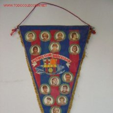 Coleccionismo deportivo: BANDERIN - FUTBOL - F.C. BARCELONA - HISTORIAL - AÑO 1981. Lote 90701343