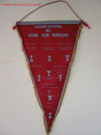 Coleccionismo deportivo: BANDERIN - FUTBOL - F.C. BARCELONA - HISTORIAL - AÑO 1981 - Foto 2 - 90701343