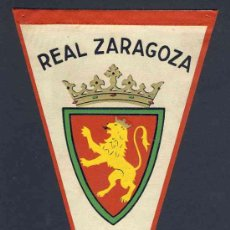Coleccionismo deportivo: BANDERIN DEL REAL ZARAGOZA. FUTBOL. Lote 9773802