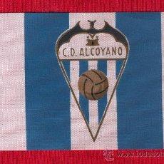 Coleccionismo deportivo: 10 BANDERITAS DE 10 X 15 CLUB DEPORTIVO ALCOYANO. Lote 25991615