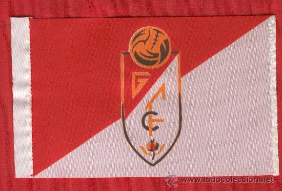 10 BANDERITAS DE 10 X 15 GRANADA FUTLBOL CLUB (Coleccionismo Deportivo - Banderas y Banderines de Fútbol)