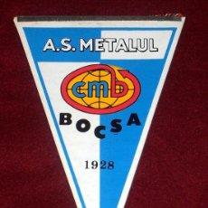 Coleccionismo deportivo: BANDERIN DE FUTBOL // A.S. METALUL BOCSA // RUMANIA. Lote 17048434