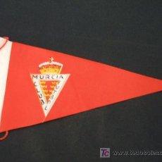 Coleccionismo deportivo: BANDERIN DE TELA - MURCIA CLUB FUTBOL - . Lote 18188291