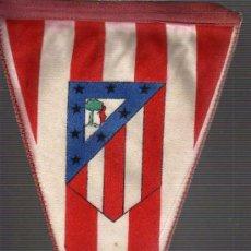 Collectionnisme sportif: BANDERIN DE FUTBOL ATLETICO DE MADRID -AÑOS 60 APROXMTE. Lote 18232516