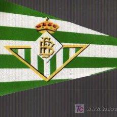 Coleccionismo deportivo: BANDERIN DE FUTBOL .REAL BETIS BALOMPIE. Lote 19048953