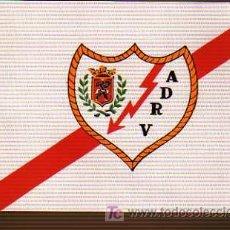Coleccionismo deportivo: BANDERIN FUTBOL PARA BICICLETA A.D. RAYO VALLECANO. Lote 19248085