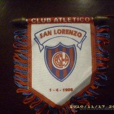 Coleccionismo deportivo: BANDERIN PEQUEÑO DEL SAN LORENZO DE ALMAGRO DE ARGENTINA - GOLY. Lote 195455960