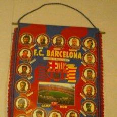 Coleccionismo deportivo: BANDERÍN BARÇA F. C. BARCELONA TEMPORADA 96/97. Lote 23247644
