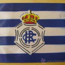 Collezionismo sportivo: BANDERIN DE BICICLETA -RECREATIVO DE HUELVA- VIZCAYA -FUTBOL . Lote 23748360