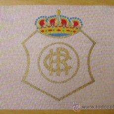 Coleccionismo deportivo: BANDERIN DE BICICLETA -RECREATIVO DE HUELVA -FUTBOL . Lote 23748548