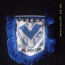 Coleccionismo deportivo: BANDERIN PEQUEÑO DEL VELEZ SARZFIELD DE ARGENTINA - GOLY. Lote 195641456