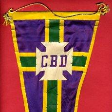 Coleccionismo deportivo: BANDERIN FUTBOL , POSIBLEMENTE DE BRASIL , ORIGINAL ANTIGUO, . Lote 26547609