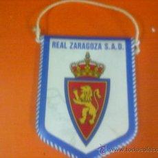 Coleccionismo deportivo: BANDERIN FUTBOL FIRMADO REAL ZARAGOZA. 11,5 CM.. Lote 28108514