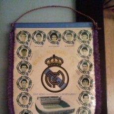 Coleccionismo deportivo: BANDERIN REAL MADRID TEMPORADA 87/88. Lote 35394376