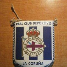Coleccionismo deportivo: BANDERIN REAL CLUB DEPORTIVO LA CORUÑA. Lote 29618416