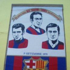 Coleccionismo deportivo: BANDERIN DE RIFE -SADURNI I TORRES . Lote 29830437