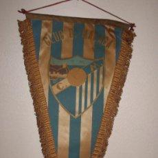Coleccionismo deportivo: BANDERIN CLUB D. MALAGA AÑOS 60. Lote 29952878