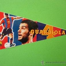 Collezionismo sportivo: LOS BANDERINES DEL BARÇA 98 / 99 , BANDERIN ADHESIVO DE GUARDIOLA 4 , 1998 - 1999 NIKE SPORT. Lote 30322614