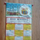 Coleccionismo deportivo: BANDERIN DEL F.C.BARCELONA CALENDARIO DEL 1.975. Lote 30460282