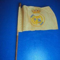 Coleccionismo deportivo: (F-29)BANDERIN REAL MADRID AÑOS 40-50. Lote 30564826