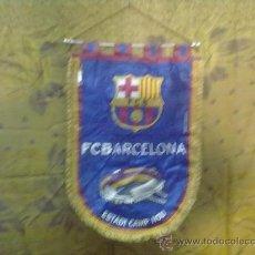 Coleccionismo deportivo: BANDERIN F.C BARCELONA ESTADI CAMP NOU 28X40 CM.. Lote 30616207