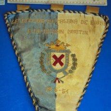 Coleccionismo deportivo: (BB-9)BANDERIN FUTBOL LA COLONIA CATALANA DE EIBAR A LA U.D.SAN MARTIN 13-5-51. Lote 30642881
