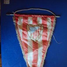 Coleccionismo deportivo: (BA-68)BANDERIN GRANDE AÑOS 70 AT.BILBAO(23 X 44 CM.). Lote 30715220