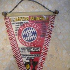 Coleccionismo deportivo: BANDERIN DEL BAYER DE MUNICH 1982.. Lote 30911688