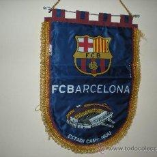 Coleccionismo deportivo: BANDERIN DE F,C, BARCELONA ESTADI CAMP NOU PRODUCTO OFICIAL . Lote 31191298