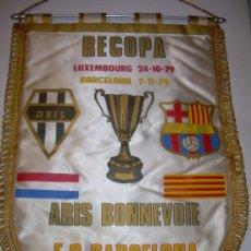 Coleccionismo deportivo: BANDERIN FUTBOL CLUB BARCELONA ....RECOPA..79. Lote 31394360