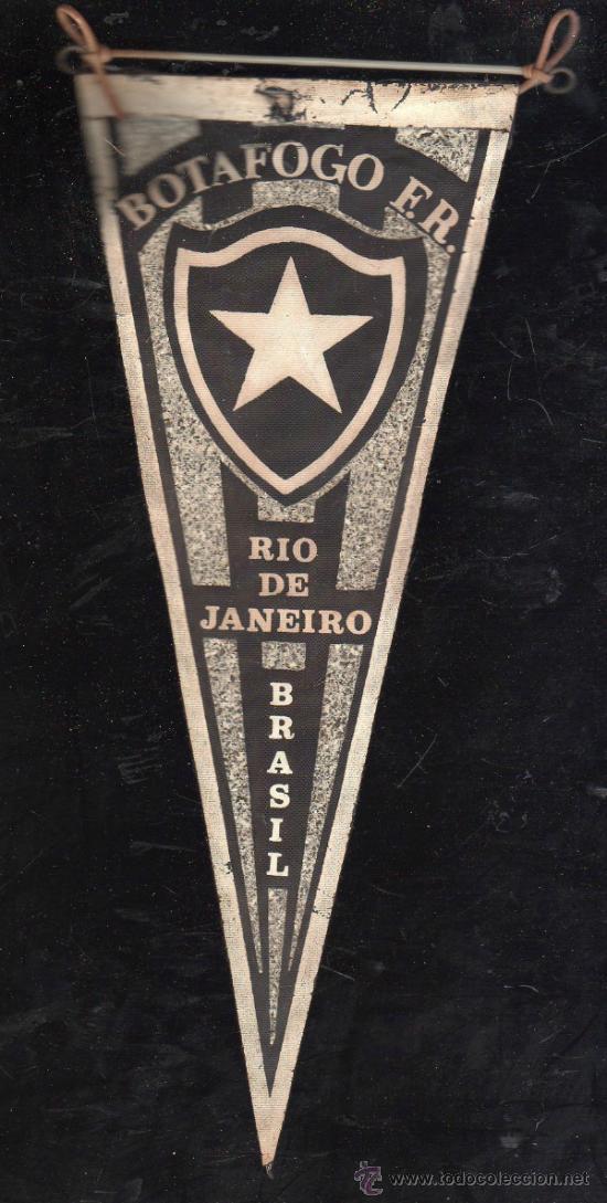 ANTIGUO BANDERIN DE BOTAFOGO F.R., RIO DE JANEIRO (Coleccionismo Deportivo - Banderas y Banderines de Fútbol)
