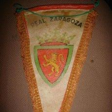 Coleccionismo deportivo: ANTIGUO BANDERIN DEL REAL ZARAGOZA. Lote 164619388