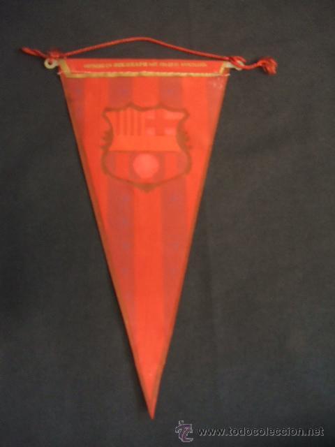 Coleccionismo deportivo: BANDERIN - FUTBOL CLUB BARCELONA - - Foto 2 - 32614626