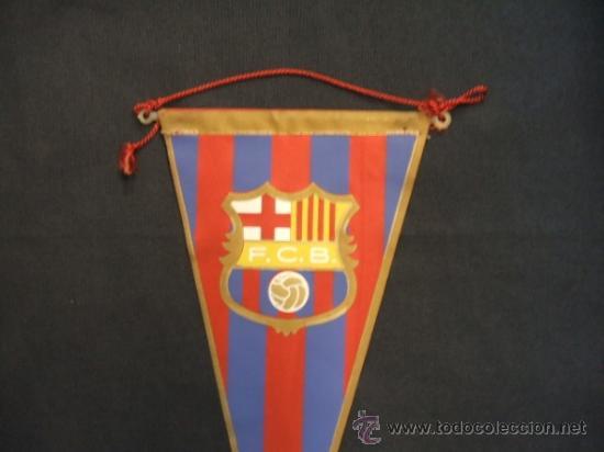 Coleccionismo deportivo: BANDERIN - FUTBOL CLUB BARCELONA - - Foto 3 - 32614626