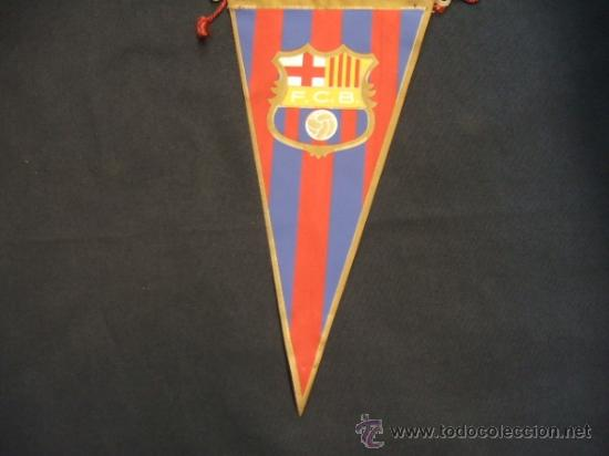 Coleccionismo deportivo: BANDERIN - FUTBOL CLUB BARCELONA - - Foto 4 - 32614626