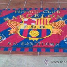 Coleccionismo deportivo: -BANDERA -FUTBOL CLUB BARCELONA(PRODUCTO OFICIAL).1METROX1,47.. Lote 33476471