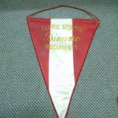 Coleccionismo deportivo: BANDERIN FUTBOL DINAMO DE BUCAREST. CLUBUL SPORTIV DINAMO BUCURESTI RUMANIA. Lote 34610359