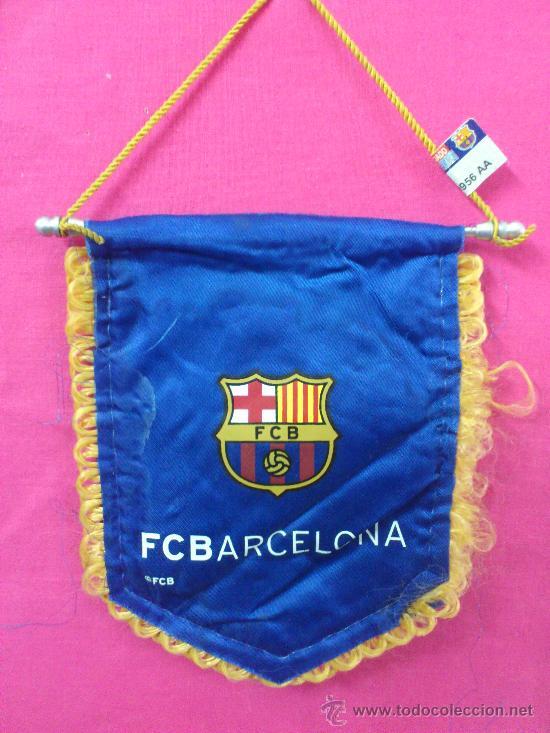 BANDERIN FUTBOL FC BARCELONA. PRODUCTO LICENCIADO (Coleccionismo Deportivo - Banderas y Banderines de Fútbol)