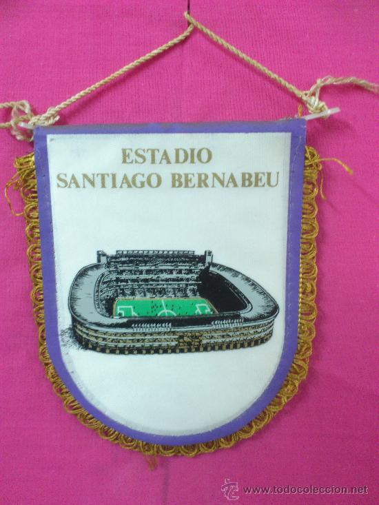 Coleccionismo deportivo: BANDERIN FUTBOL REAL MADRID - Foto 2 - 35528602