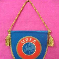 Coleccionismo deportivo: BANDERIN FUTBOL UEFA.. Lote 35528653