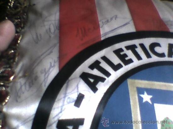 Coleccionismo deportivo: Banderin firmado futbol 1983 84 peña atletica carabanchel autografos plantilla At Madrid atletico - Foto 12 - 36502545